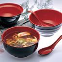 """Tazón de fuente 100% de sopa de la serie de """"Oribe"""" del servicio de mesa de la melamina (AMA69)"""