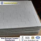 Tuile Hex en céramique d'alumine résistante à l'usure sur la maille