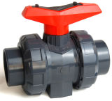 Plastique PVC UPVC Vrai Union Ball Valve PN16
