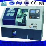 Metal da elevada precisão que processa a maquinaria inclinada do torno do CNC da base com mandril