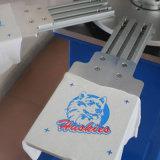 TシャツのTaglessの首のラベルのための自動シルクスクリーンプリンター