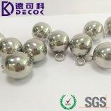 Vendas quentes feitas dentro na esfera de aço inoxidável de China para a cortina Chain com laço pequeno