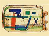 Varredor grande da bagagem da raia do tamanho X (ELS-100100)