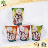 Taza de café de cerámica de China de hueso del color dulce de 10 onzas nueva