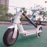 Deux roues individu de 8 pouces équilibrant le scooter électrique Xiaomi