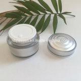 vaso crema rotondo acrilico d'argento 50g per l'imballaggio dell'estetica (PPC-NEW-147)
