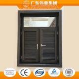 Populäre Art-Aluminiumluftschlitz-Flügelfenster-Fenster