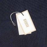 Buenas etiquetas bien diseñadas de la caída de la textura para la ropa en Guangzhou (Shangpin-004A)