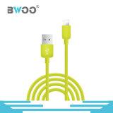 Kundenspezifischer bunter Blitz Mikrotyp-cc$c USB-Daten-Kabel