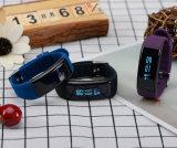 faixa esperta da saúde tempo real do monitor da frequência cardíaca 24hours