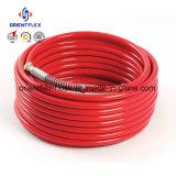 Boyau en caoutchouc de Pressue de tresse élevée flexible de fibre (SAE100 R7/R8)