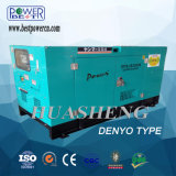 générateur électrique diesel silencieux de 50kw 100kw 150kw
