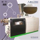 Ligne en bois de production à la machine d'extrusion de panneau de porte de mousse en plastique de PVC