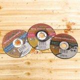 абразивный диск диска подавленный разбивочного металла 115*6*22.2mm истирательный