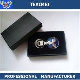 D'usine trousseau de clés de luxe en gros en métal de véhicule de logo de qualité directement