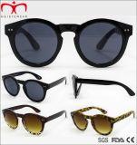 Óculos de sol plásticos retros para as mulheres (WSP705880)