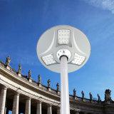 Lámpara solar de la iluminación LED del jardín de la calle del nuevo producto 2017 con la luz alejada del sensor de movimiento del regulador