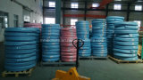Le fil d'acier a tressé le boyau hydraulique couvert par caoutchouc renforcé (SAE100 R2-5/16)