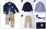Uniformi scolastichi su ordinazione autunno di asilo ed insiemi del vestito tre del codice categoria dei bambini dei vestiti di inverno degli allievi del banco primario uniformi