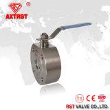 Tipo válvula de la oblea del acero inoxidable de verificación del resorte del disco