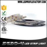 Прокладка Cara Pasang Lampu 5050 RGBW СИД 4.8 ватта на метр