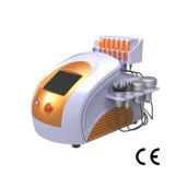 Ultrasound de RF de cavitación de láser de diodo de vacío de adelgazamiento de equipos