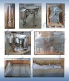 Machine à emballer façonnage/remplissage/soudure verticale avec le remplissage de foreuse