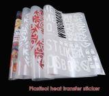 Impresión del plastisol de la manera para las etiquetas engomadas del traspaso térmico de la ropa