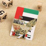 Pin su ordinazione del risvolto dei UAE dell'oro di alta qualità con il pacchetto della scheda della protezione