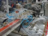 (WPC) perfil de madera plástico de la ventana de /PVC/protuberancia del tubo de Board& de la puerta y cadena de producción