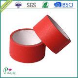80度の緑のクレープ紙の自動車保護テープ