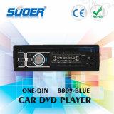 Speler DVD Van uitstekende kwaliteit van de Auto van de Speler van de Auto DVD van Suoer de Enige DIN Video met CE&RoHS (8809-blauw)