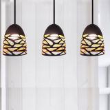 Jianer neue moderne Gaststätte Aufhebung-hängende Beleuchtung-Lampe im schwarzen/weißen Farbanstrich