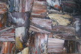 自然な化石の木製の平板等級の磨かれた平板