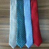 Cravates micro de tissu de modèle de Paisely de la mode des hommes