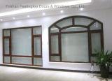 Окно Casement наклона и поворота конструкции энергии эффективное алюминиевое (FT-W80)