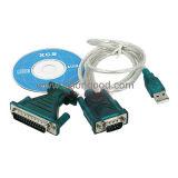 USB 2.0 конвертера USB к серийному переходнике кабеля RS232