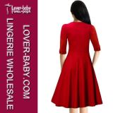 Robe occasionnelle formelle de femme de soirée (L36068-1)