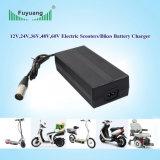 Carregador de bateria elétrico certificado UL da bicicleta do poder superior 36V 6A