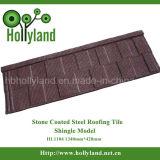 Het gekleurde Steen Met een laag bedekte Blad van het Dak van het Staal (de Tegel van de Dakspaan)