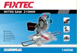 Fixtec Power Tools 1600W Mitre Saw para Aluminum Used