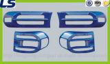 Acessórios da tampa do farol do diodo emissor de luz auto para a máscara da luz do cruzador de Toyota FJ