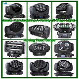 60W diodo emissor de luz brandnew Moving Head Pattern Effect Light