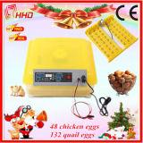 농장과 실험실에서 사용되는 완전히 자동적인 닭 계란 부화기
