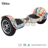 """Hoverboard 10 """"trotinette"""" ereto elétrico de equilíbrio da roda do """"trotinette"""" 2 do auto da polegada"""