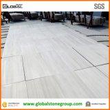 Carrelages de marbre gris faits sur commande or blanc/noir