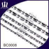 De goedkope Juwelen van de Ketting van de Bal van het Roestvrij staal op Spoel