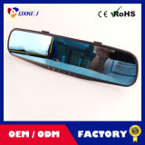 """2.7 """" tachigrafo della macchina fotografica di visione notturna HD del registratore dello specchio di Rearview dell'automobile DVR dell'affissione a cristalli liquidi video"""