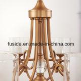 Hängende Lampen-dekorative Cer-Leuchter-Bronzebeleuchtung Matt-Brown