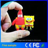 주문 PVC 갯솜 아기 USB 섬광 드라이브 (JV1192)